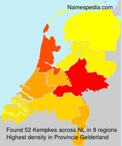 Surname Kempkes in Netherlands