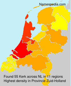 Surname Kerk in Netherlands