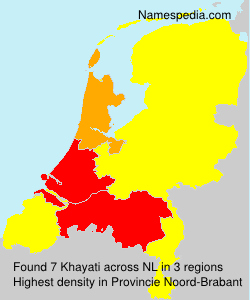 Surname Khayati in Netherlands