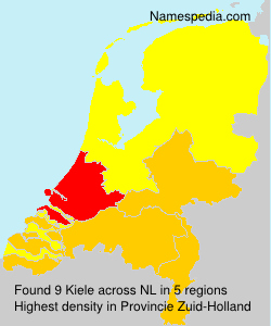Surname Kiele in Netherlands