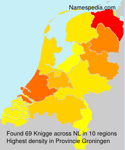 Surname Knigge in Netherlands