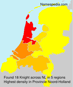 Surname Knight in Netherlands