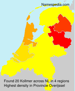 Surname Kollmer in Netherlands
