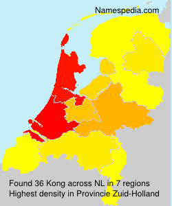 Surname Kong in Netherlands