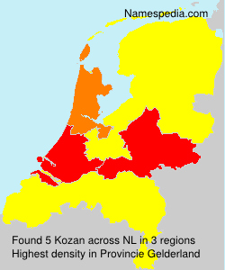 Surname Kozan in Netherlands