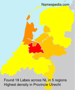 Surname Labes in Netherlands