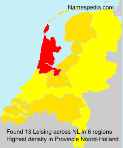 Surname Leising in Netherlands