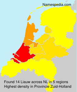 Surname Liauw in Netherlands