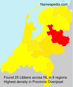 Surname Libbers in Netherlands
