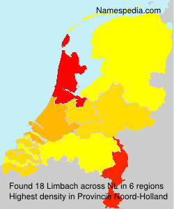 Surname Limbach in Netherlands