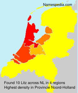 Surname Litz in Netherlands