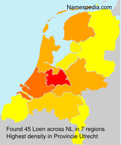 Surname Loen in Netherlands