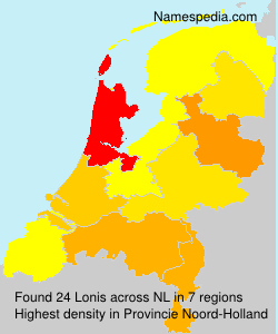 Surname Lonis in Netherlands