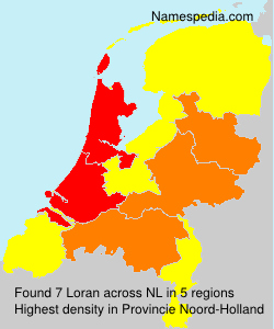 Surname Loran in Netherlands