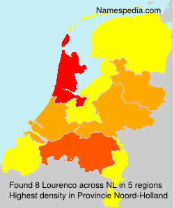 Surname Lourenco in Netherlands