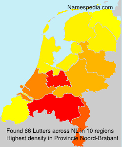 Surname Lutters in Netherlands