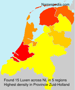Surname Luxen in Netherlands