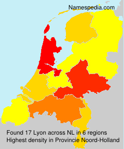 Surname Lyon in Netherlands