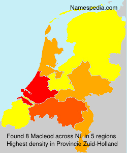Surname Macleod in Netherlands