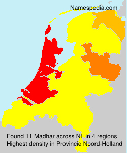 Surname Madhar in Netherlands