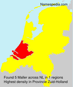 Surname Maller in Netherlands