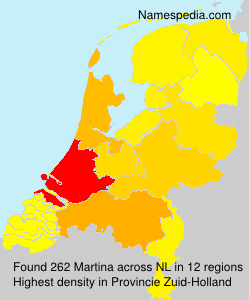 Surname Martina in Netherlands
