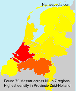 Surname Massar in Netherlands