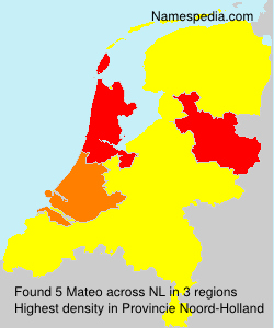 Surname Mateo in Netherlands