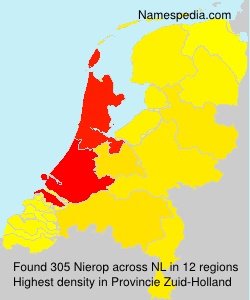 Surname Nierop in Netherlands