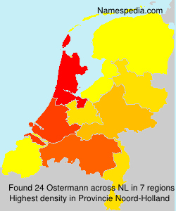 Surname Ostermann in Netherlands