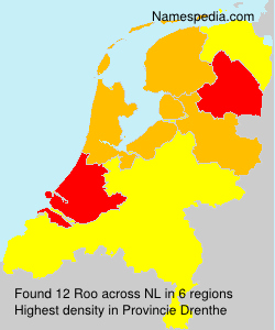 Surname Roo in Netherlands