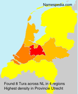 Surname Tura in Netherlands