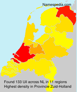 Surname Uil in Netherlands