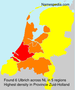 Surname Ulbrich in Netherlands