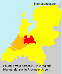Surname Velo in Netherlands