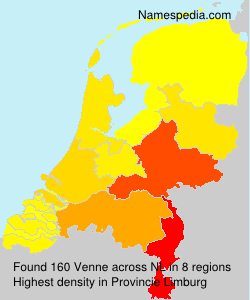 Surname Venne in Netherlands