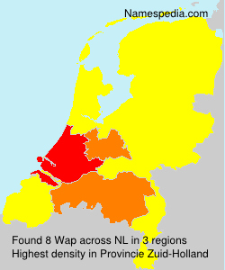 Surname Wap in Netherlands