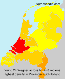 Surname Wegner in Netherlands