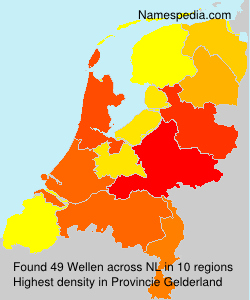 Surname Wellen in Netherlands