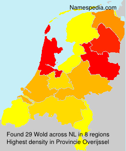 Surname Wold in Netherlands