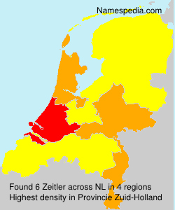 Surname Zeitler in Netherlands