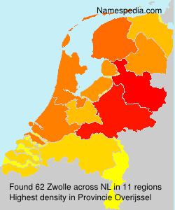 Surname Zwolle in Netherlands