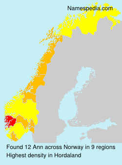 Surname Ann in Norway