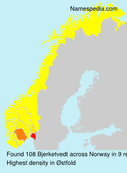 Surname Bjerketvedt in Norway