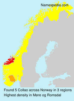 Surname Collao in Norway