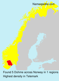Surname Dohme in Norway
