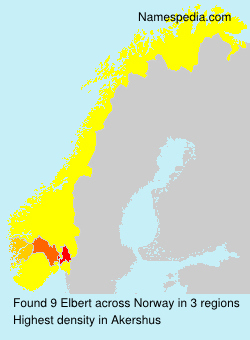 Surname Elbert in Norway