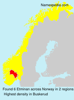 Surname Etminan in Norway