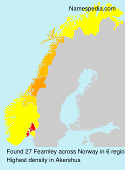 Surname Fearnley in Norway