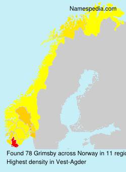 Surname Grimsby in Norway